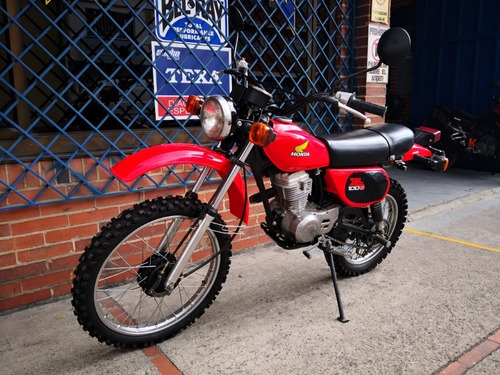 honda xl100s 1983 - clásica - restaurada