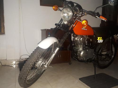 honda xl125 modelo 1978
