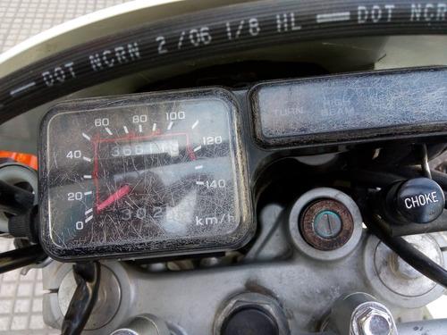 honda xl200 solo 37000km