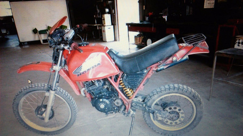honda xl400r paris dakar patentada 1986
