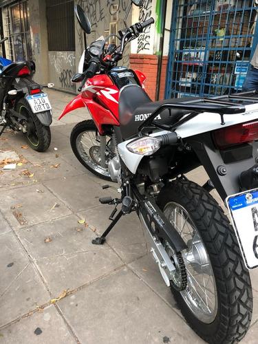 honda xr 150 l 154km rojo y blanco igual a nuevo!!