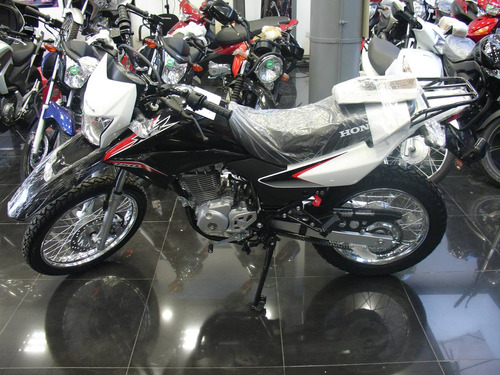 honda xr 150 l  2020 0km  en color blanco