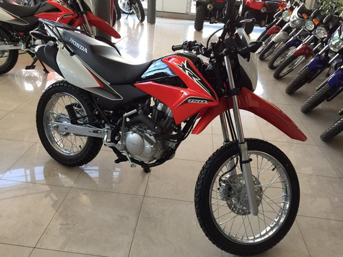 honda xr 150l nueva 2018 0 km roja negra blanca moto sur