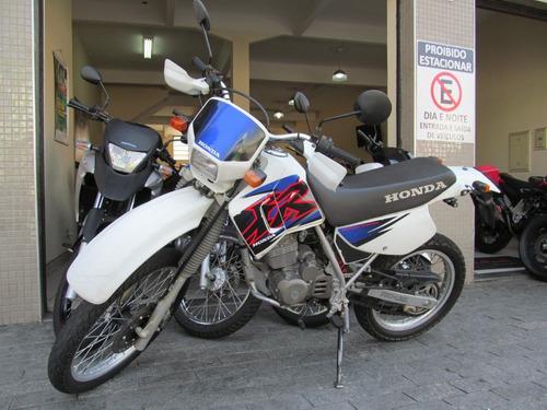 honda xr 200r 2001 branca
