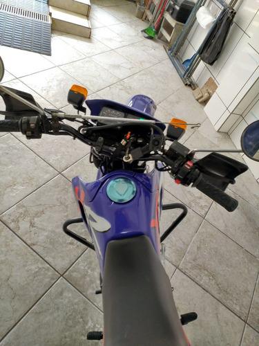 honda xr 200r azul