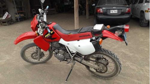 honda xr650l 3 rojo