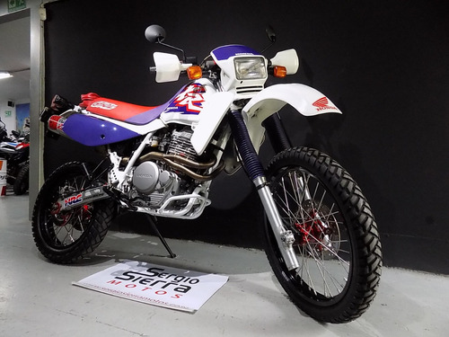 honda xr650l blanca 1996