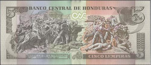 honduras 5 lempiras 1 mar 2012 p98