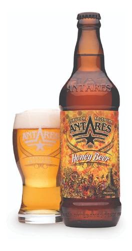 honey beer caja x 12 cerveza artesanal antares bot 500ml