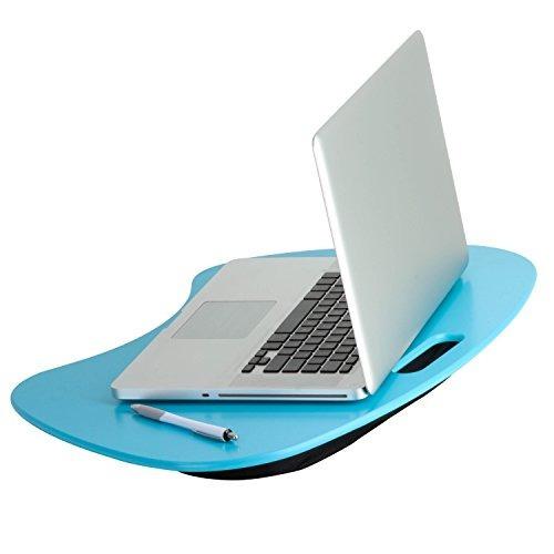 honey-can-do tbl-03539 portátil laptop lap desk con mango, a