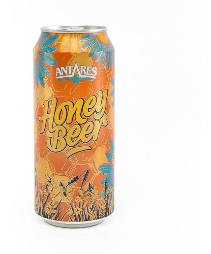 honey cerveza artesanal antares lata 473ml x 6