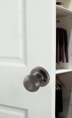 honeywell 8101104 clásico maniquí perilla de puerta, antig