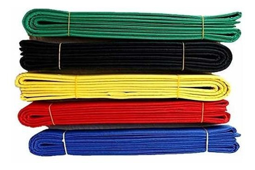 hongh kid cinturones de taekwondo algodón artes marciales ju