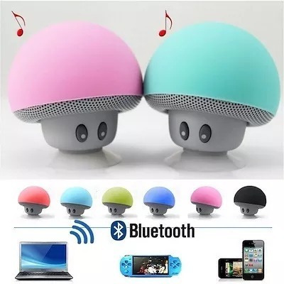 hongo mini parlante bluetooth speaker celular tablet