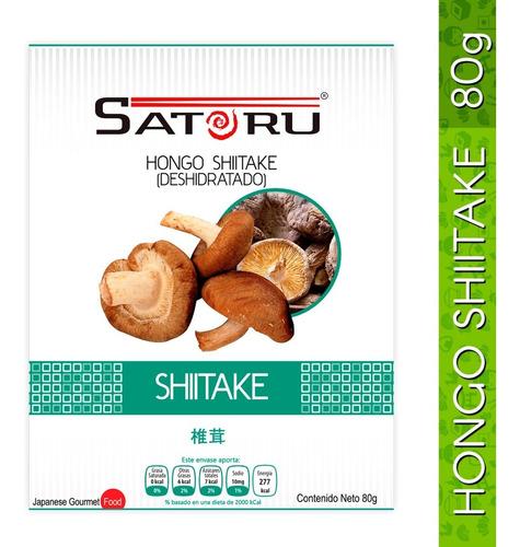 hongo shiitake deshidratado 80g