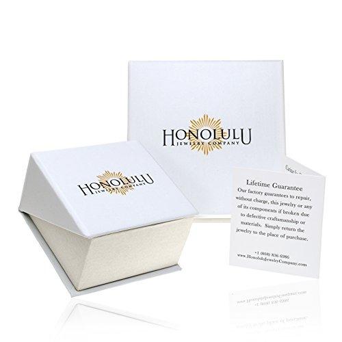 honolulu jewelry company sterling silver plumeria cruz cz co