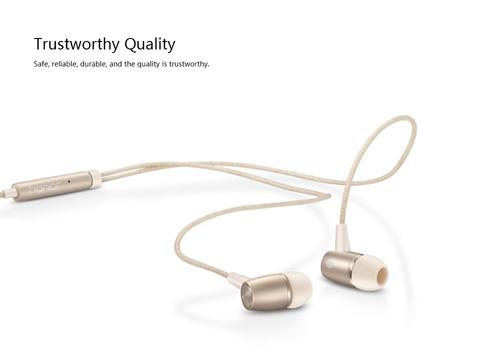 honor am12 auricular 3.5mm 4pin auricular con control de