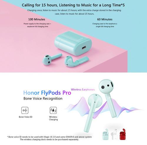 honor cm-h2 flypods pro auriculares inalámbricos bone voice