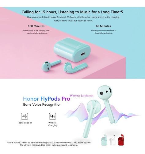 honor cm-h2 flypods pro auriculares inalmbricos bone voice