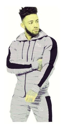hoodie campera buzo entallada hombre cierre capucha 07
