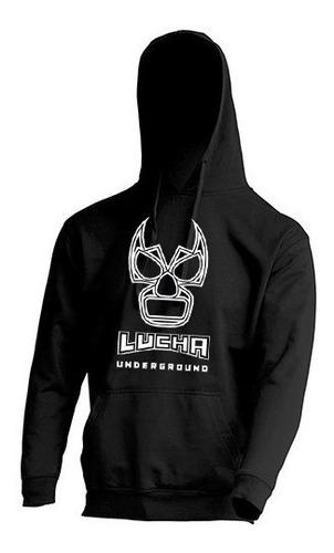 hoodie / sudadera estampada lucha underground