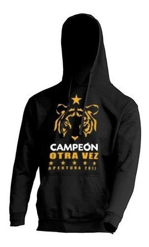hoodie / sudadera  tigres campeón 2017