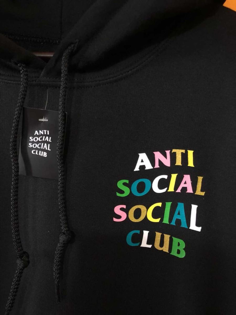 5b8db46d711 Hoodie Tipo Assc Anti Social Social Club Colores -   899.00 en ...
