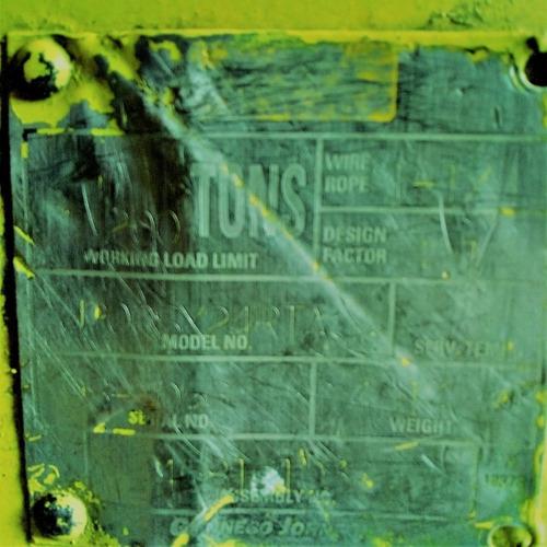 hook block 200 ton gunnebo johnson