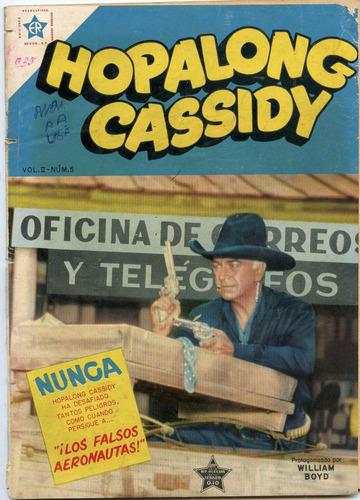 hopalong cassidy nº 5, octubre 1954, novaro