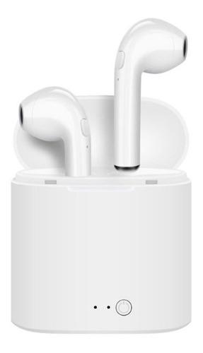 hopemob audifonos bluetooth inalambricos estereo airpods microfono incorporado con cargador portatil y estuche