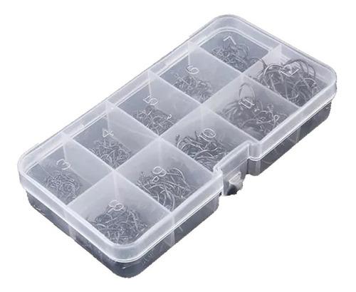 hopemob caja con 600 piezas de ganchos pinza super afilados para pescar en mar launa rio todo tipo de pesca