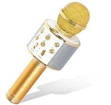 hopemob microfono inalambrico karaoke bocina bluetooth mp3
