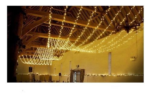 hopemob serie luces 20 mts decoracion blanco frio o blanco calido para toda ocasion boda aniversario quince años jardin