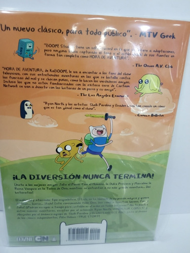 hora de aventura cómic original español 30,00