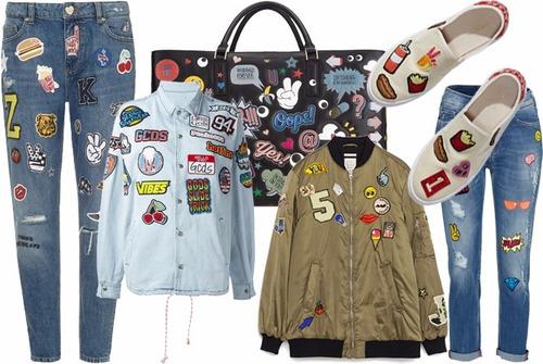 hora de aventura set de 5 parches bordados decorativos ropa