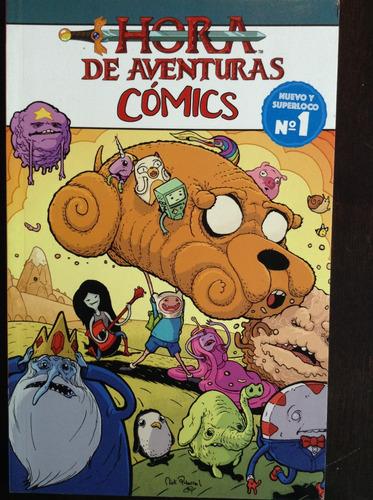 hora de aventuras cómics n°1