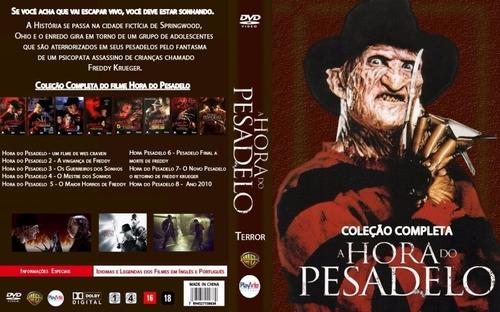 hora do pesadelo 9 dvds coleção completa