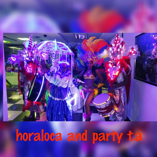 hora loca and party  t.a
