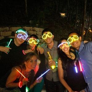 hora loca glow neon (pulseras, collares, lentes y mas..)