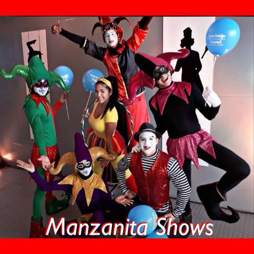 hora loca - show led - animacion infantil- manzanitashows