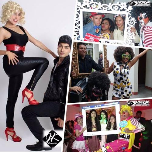 hora loca, shows infantiles, baby shower, luces, sonido, dj