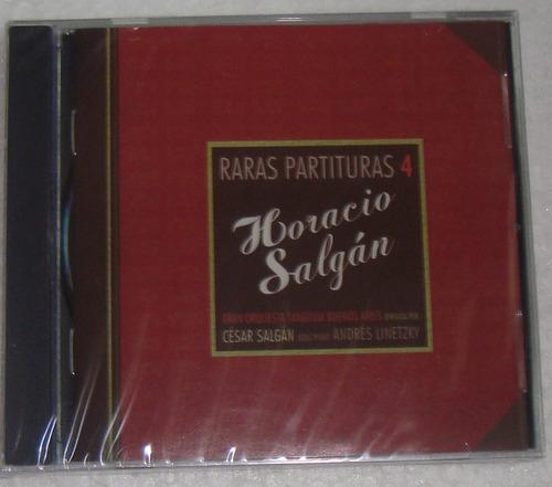 horacio salgan raras partituras 4 cd sellado