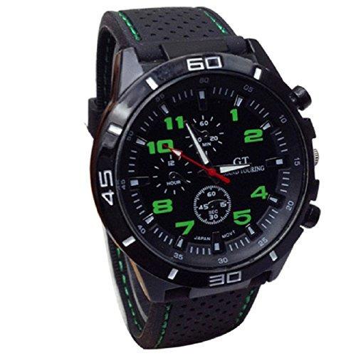 horas malloom nueva relojes de los hombres del deporte mili