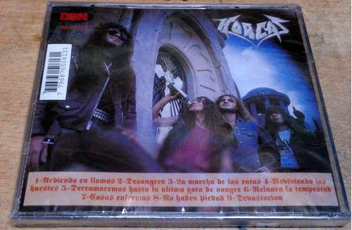 horcas reinara la tempestad cd sellado  / kktus