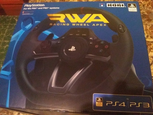 hori racing wheel apex ps3/ps4 pc - envio gratis