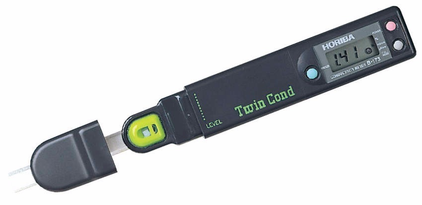 Horiba B 173 Conductivity Meter : Horiba b medidor de conductividad y salinidad bs