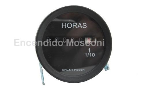 horimetro cuenta horas electrónico orlan rober 52 mm