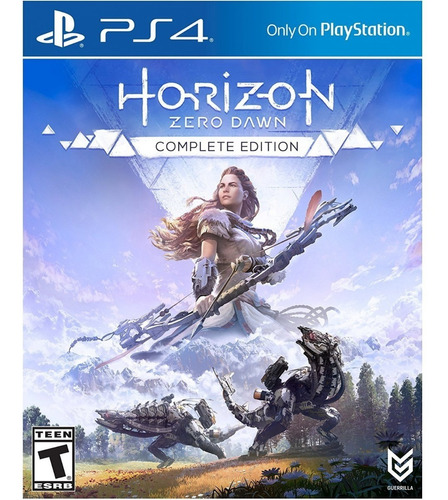 horizon zero dawn complete edition - ps4 - digital - español