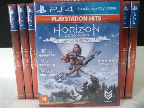 horizon zero dawn complete edition ps4 mídia física lacrado
