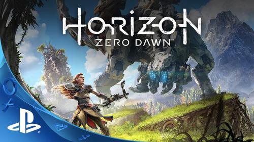 horizon zero dawn ps4 fisico nuevo en español caja carton